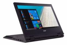 Schüler Laptop und Tablet